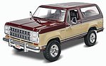 1981 Dodge Ramcharger -- Plastic Model Truck Kit -- 1/24 Scale -- #854372
