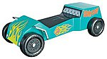 Scooby-Doo Dune Buggy Racer Series Kit -- Pinewood Derby Car -- #y9402