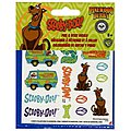 Scooby-Doo Peel & Stick Decal Sheet -- Pinewood Derby Decal and Finishing -- #y9407