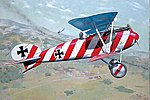 Albatros D III OAW WWI German BiPlane Fighter -- Plastic Model Airplane Kit -- 1/32 -- #608