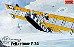 Felixstowe F.2A Late -- Plastic Model Airplane Kit -- 1/72 Scale -- #rd0014