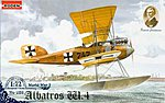 Albatros W.4 Early -- Plastic Model Airplane Kit -- 1/72 Scale -- #rd0028