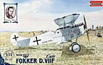 Fokker D.VIIF Late -- Plastic Model Airplane Kit -- 1/72 Scale -- #rd0031