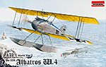Albatros W.4 Late -- Plastic Model Airplane Kit -- 1/72 Scale -- #rd0034