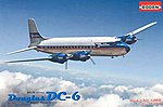 DC-6 USA -- Plastic Model Airplane Kit -- 1/144 Scale -- #rd0304