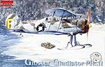 Gloster Ggadiator Mk.II -- Plastic Model Airplane Kit -- 1/48 Scale -- #rd0401