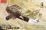 Fokker D.VII ALB Early -- Plastic Model Airplane Kit -- 1/48 Scale -- #rd0421