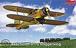 Beechcraft D17S -- Plastic Model Airplane Kit -- 1/48 Scale -- #rd0446