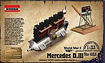 Mercedes D.III 160HP Engine -- Plastic Model Engine Kit -- 1/32 Scale -- #rd0623