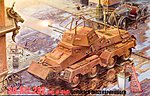 Sd.Kfz.232 -- Plastic Model Military Vehicle Kit -- 1/72 Scale -- #rd0704