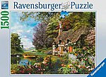 Country Cottage 1500pcs -- Jigsaw Puzzle Over 1000 Piece -- #16202