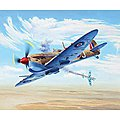 Spitfire Mk.Vc -- Plastic Model Airplane Kit -- 1/48 Scale -- #03940