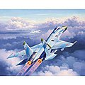 SU-27 Flanker -- Plastic Model Airplane Kit -- 1/144 Scale -- #03948