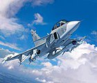 Saab JAS-39D Gripen Twinseater -- Plastic Model Airplane Kit -- 1/72 Scale -- #03956