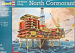 Oil Rig North Cormorant -- Plastic Model Building Kit -- 1/20 Scale -- #08803