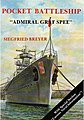 Pocket Battleship Admiral Graf Spee -- Authentic Scale Model Boat Book -- #1830