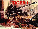 Tiger I -- Authentic Scale Tank Vehicle Book -- #3521