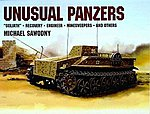 Unusual Panzers -- Authentic Scale Tank Vehicle Book -- #6815