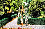 Ornamental Hedges & Shrubbery - Boxwood Hedges (green) -- Model Railroad Scenery Supplies -- #510