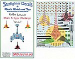 Star Trek More K-Type Markings for 4-8 Ships -- Plastic Model Aircraft Decal -- #28