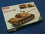 Tiran 5 Tank -- Plastic Model Tank Kit -- 1/35 Scale -- #235