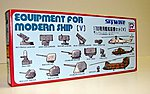 Equipment & Accessories Set for Modern Warships -- Plastic Model Ship Accessory -- 1/700 -- #e1