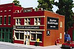 Hardware Store Kit -- HO Scale Model Railroad Building -- #6006