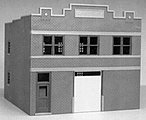 Freight Office City Building -- HO Scale Model Railroad Building -- #6008