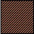 Comp. Carbon Fiber Decal Black on Bronze -- Plastic Model Vehicle Decal -- 1/24 Scale -- #1124
