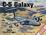 C-5 Galaxy In Action -- Authentic Scale Model Airplane Book -- #1201