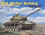 M41 Walker Bulldog Walk Around -- Authentic Scale Tank Vehicle Book -- #27024