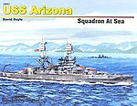 USS Arizona Squadron At Sea -- Authentic Scale Model Boat Book -- #34001