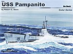 USS Pampanito On Deck Color -- Authentic Scale Model Boat Book -- #5604