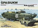 GPA/DUKW Color Walk Around -- Authentic Scale Model Boat Book -- #5710