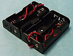 Battery Box 2-Pack each for 2 AA Batteries (wired)