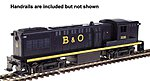 Baldwin AS-16 B&O #2236 - HO-Scale
