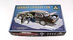 German Civilian Car with Rockets -- Plastic Model Military Vehicle Kit -- 1/35 Scale -- #2005