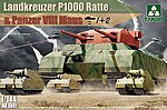 WWII HBT Landkreuzer P1000 Ratte 3'n1' -- Plastic Model Military Vehicle Kit -- 1/35 Scale -- #3001