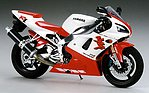 Yamaha YZF-R1Bike -- Plastic Model Motorcycle Kit -- 1/12 Scale -- #14073