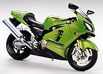 Kawasaki Ninja ZX-12R Bike -- Plastic Model Motorcycle Kit -- 1/12 Scale -- #14084