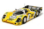 Porsche 956 Newman Racecar -- Plastic Model Car Kit -- 1/24 Scale -- #24049