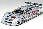 Mercedes CLK-GTR Racecar LeMans -- Plastic Model Car Kit -- 1/24 Scale -- #24195
