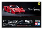 Enzo Ferrari Red Version Sportscar -- Plastic Model Car Kit -- 1/24 Scale -- #24302