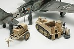 German Power Supply Kettenkrad Crew -- Plastic Model Military Vehicle Kit -- 1/48 Scale -- #32533