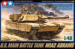 M1A2 Abrams -- Plastic Model Military Vehicle Kit -- 1/48 Scale -- #32592