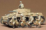 German Panzerkampfwagen II -- Plastic Model Military Vehicle Kit -- 1/35 Scale -- #35009