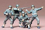 US Army Infantry Crew Soldiers Set -- Plastic Model Military Figure Kit -- 1/35 Scale -- #35013