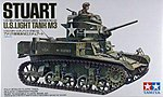 US M3 Stuart Light Tank Kit -- Plastic Model Military Vehicle Kit -- 1/35 Scale -- #35042