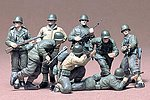 US Infantry Euro Theater Soldier Set -- Plastic Model Military Figure Kit -- 1/35 Scale -- #35048