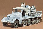 German 8 Ton 1/2 Track Sd.Kfz. -- Plastic Model Military Vehicle Kit -- 1/35 Scale -- #35050